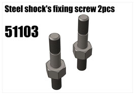 Steel shock's fixing screw 2pcs