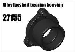 Alloy layshaft bearing housing