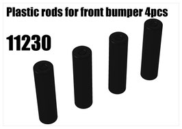 Plastic rods for front bumper 4pcs
