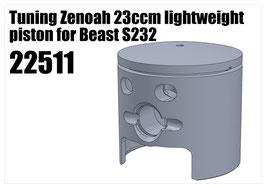 Tuning Zenoah 23ccm piston for S232