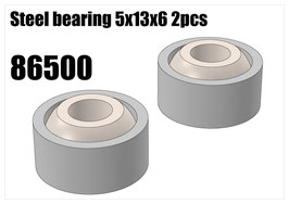 Steel bearing 5x13x6 2pcs