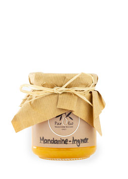Mandarine-Ingwer Marmelade