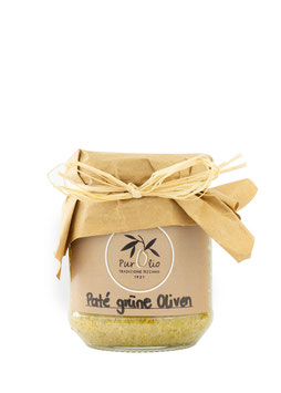 Pate` Grüne Olive