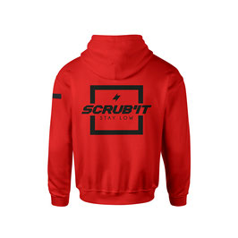 HOODIE Scrub'It Red