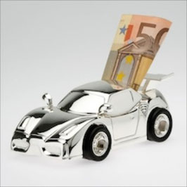 Spardose Sportwagen