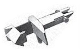 STANDARD-STECKKUPPLUNG /  FLEISCHMANN N STANDARD-STECKKUPPLUNG   10 Stk
