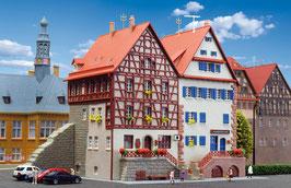 Kibri 37368 Spur N Fachwerkhaus an der Stadtmauer, 2 Stück, Bausatz