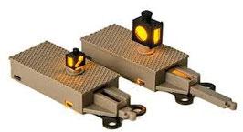 Fleischmann 944001 - Beleuchtetes Weichensignal für N-Gleis mit Schotterbett NEU