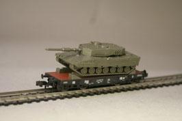 Roco 25161 - Flachwagen der DB mit Leopard 2