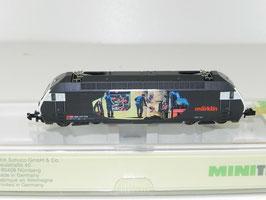 "Minitrix 12687, E-Lok Re 460 ""Heizerlok"" der SBB-CFF-FFS, Ep. V, OVP DIGITAL"