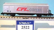 Sowa-N_2522 Güterwagen Hbis Güterwagen CFL Cargo silber