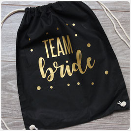 Turnbeutel -Team Bride-