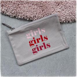 Girls Girls Girls Etui grau