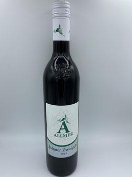 Blauer Zweigelt 0,75 l - Weinbau Allmer