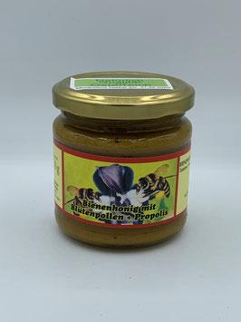 Bienenhonig mit Blütenpollen + Propollis - Imkerei Preissl Neuburger