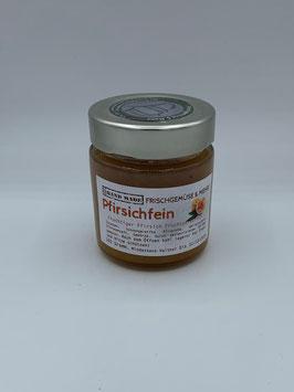 Pfirsichfein Fruchtaufstrich 160 g -  Frischgemüse und mehr Fam. Nittnaus