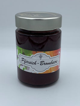 Pfirsich-Brombeer Marmelade 220 g - Obsthof Weiß St. Anna/Aigen