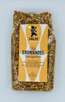 Bio-Erdmandel-Honigmüsli 500 g - Zagler Bio GmbH