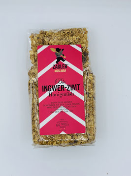 Bio-Ingwer-Zimt-Honigmüsli 500g - Zagler Bio GmbH