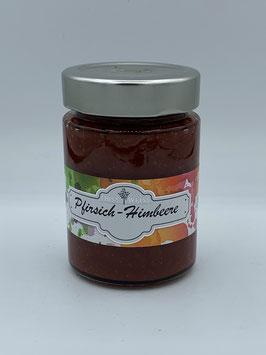 Pfirsich-Himbeer Marmelade 220 g - Obsthof Weiß St. Anna/Aigen