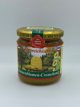 Sonnenblumen-Cremehonig 500 g -  Imkerei Preissl Neuburger
