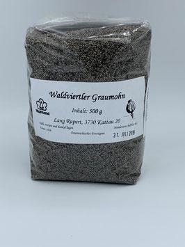 Waldviertler Graumohn 500 g - Bauern aus Niederösterreich