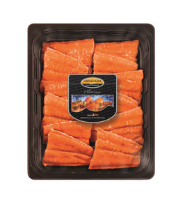 ABRAHAMS Gourmet, Stremellachs, (ca. 1,5KG/PK)