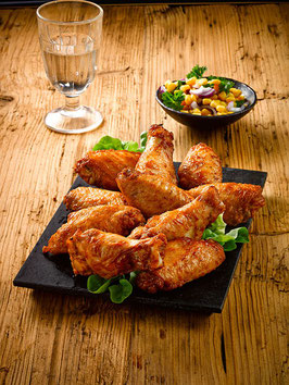 TK Barbecue Chicken Wings, (ca. 45g/Stk, 3KG/KT)