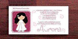 Invitacion Aurora