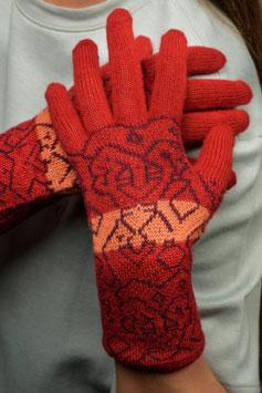 Fingerhandschuh Jacquard