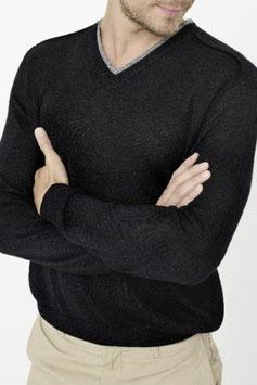 Classic Jersey Saddle Neck Sweater