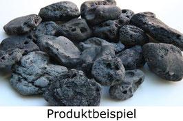 """10 große schwarze """"Schlackensteine"""""""