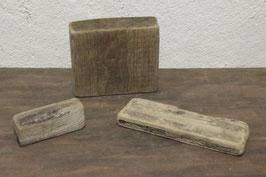 3 Stück Treibholz / Schwemmholz