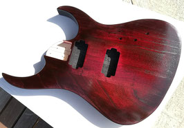 DIY - Gitarren Bodykorpus Red Cherry