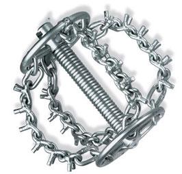Kettenschleuder mit Ring