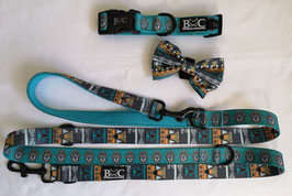 Lucky U Set Halsband & Leine