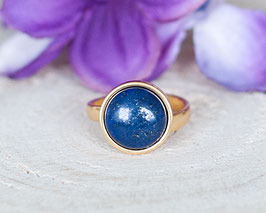 Fingerring Lapislazuli (Gold)