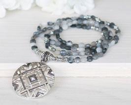 Halskette Falkenauge (Silber)