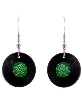 "Audio Earrings ""LP"""