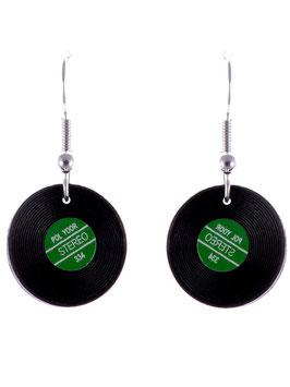 """Audio Earrings """"LP"""""""