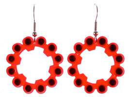 "Earrings ""Explosive"""