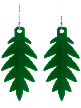 "Earrings ""Lego"" Palmtree"
