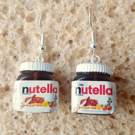 "Earrings ""Nutela"""