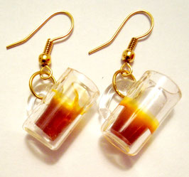 "Earrings ""Beer"""