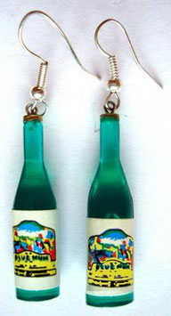 "Earrings ""German Wine"""