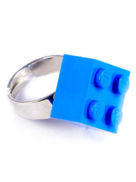 "Ring ""Lego"" 2x2 inclined"