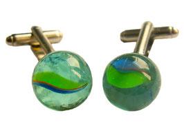 Marble cufflinks