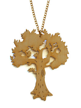 "Necklace ""Tree"""
