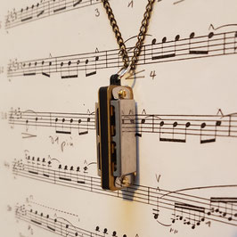 "Necklace ""Mini Harmonica"""