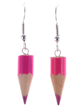 "Earrings ""Pencil"""
